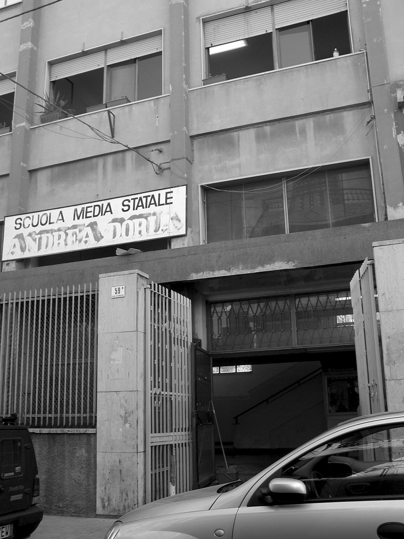 La scuola Andrea Doria  (foto Agenzia Liberaimmagine)