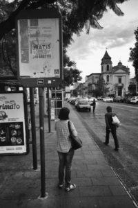 Alla fermata dell_AMT - foto Francesco Nicosia