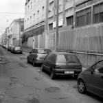 Le condizioni disastrose del manto stradale