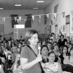 La riunione delle mamme della Doria (foto Sonia Giardina)