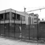 il cantiere aperto della scuola Giovanni Paolo II (foto Salvo Ruggieri)