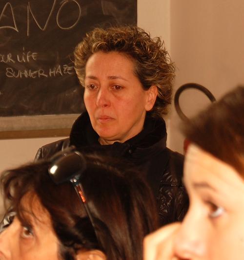 la signora Verzì, madre di Andrea Capuano