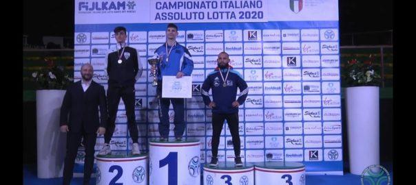 Giacomo Vitale è medaglia di bronzo